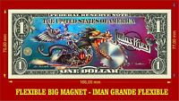 Judas Priest Painkiller IMAN BILLETE 1 DOLLAR BILL MAGNET