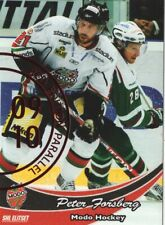 2009-10 SHL Elitset Red Parallel (#237) - PETER FORSBERG [MODO Hockey]