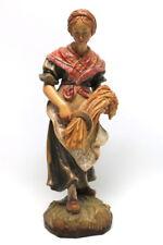 Holzbildhauerin Maria Baumann Ramsau Berchtesgaden 27,5 cm Figur #1