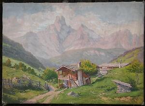1.) Gemälde signiert: Danzinger, um 1920