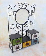 Standregal mit Schubladen und Spiegel Haken Schmuckkästchen Regal  E16206-b