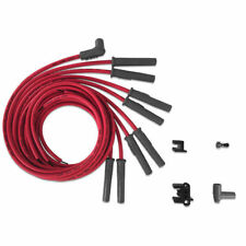 MSD 31189 Super Conductor Spark Plug Wire Set, Multi-Angle Plug, HEI Cap