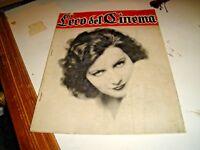 rivista L'ECO DEL  CINEMA N. 56 - LUGLIO 1928 GRETA GARBO