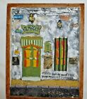 Art Latino Argentina Framed Ceramic/Wood wall hanging DANIEL FULCO DEHEZA