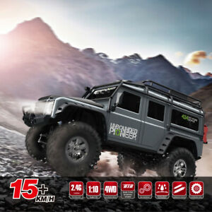 RTR Remote Control Car 1:10 4WD Racing Vehicle RC Crawler 2.4G Off-Road For Kids
