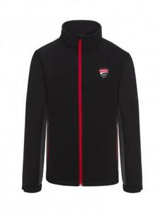 Jacket Softshell Ducati Corse Moto Gp black official collection Located in USA