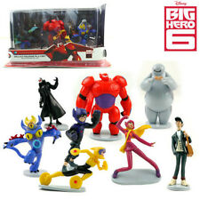 9 DISNEY BIG HERO 6 BAYMAX ACTION FIGURES DOLL KID PLAYSET TOY CAKE TOPPER DECOR