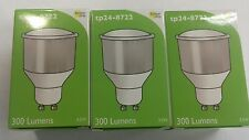TP24-3W LED Bulb 8722 Warm White 74m long GU10 x3