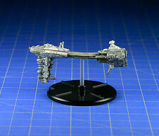 Star Wars miniatures mini Starship Battles Rebel Cruiser #09 & card