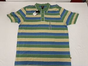 Authentic Nick Danger Mens XXL Multicolor S/S Polo Shirt *New With Tags!*