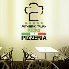 Full Color Wall Decal Pizza Italian restaurant pizzeria signboard cafe mcol25