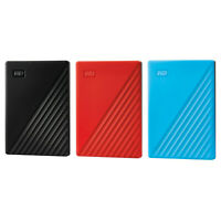 Western Digital WD 1TB My Passport 2020 3.2 Portable Hard Drive HDD All Color DI