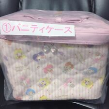 Sailor Moon My Melody Sanrio 7-11 Vanity Case  Cosmetic Pink Big Carry Bag Train
