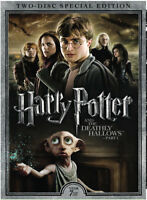 Harry Potter and the Deathly Hallows: Part 1 [New DVD] Special Edition, 2 Pack