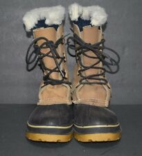 Kamik Snow Boots Size 8 Brown Insulated Waterproof Pre-owned