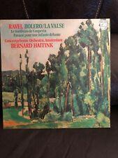 Bernard Haitink Ravel Bolero La Valse LP Philips Stereo Holland Mint