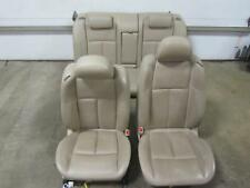 07-08 NISSAN MAXIMA Set Tan Netural Leather Seats Front Buckets Rear Bench Back