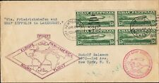 U.S. C13 FVF Blk/4 Used on Cover (11920)