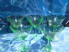 Compression Green Glasses  Goblets
