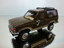 PREMIUM X MODELS FORD BRONCO II - BROWN 1:43 - EXCELLENT CONDITION - 29