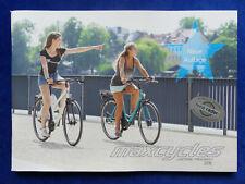 Maxcycles Leichtbau-Fahrräder Pedelec City Trekking MTB - Brochure Brochure 2018