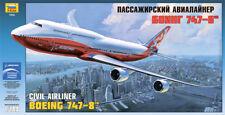 Zvezda 1/144 Civil Airliner Boeing 747-8 # 7010