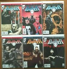 Punisher #1-6 Set--Garth Ennis/Steve Dillon--Marvel Knights 2001 1st Prints-VFN+