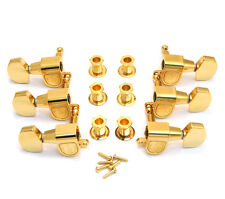 Schaller Gold M6 3x3 Tuners for Gibson Les Paul/SG® Guitar TK-0971-002