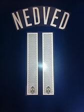 Juventus kit NEDVED bianco Nameset maglia calcio nike