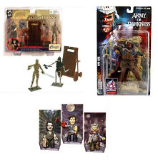 ARMY OF DARKNESS EVIL DEAD ASH UNDEAD Zombies Movie toy figures JOB LOT