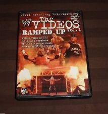WWE - The Videos #1: Ramped Up (DVD, 2002) WWF **Rare**