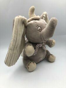 Musical Disney Baby Playgro Dumbo Music Box Elephant Plush Stuffed Toy Animal