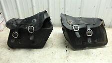 13 Yamaha XVS 1300 XVS1300 CU Stryker leather saddlebags saddle bags