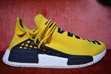 01cde6b5e1ec67 USED Adidas NMD HU Pharrell Williams Human Race Yellow BB0619 size 9