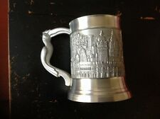 Royal Selanger Pewter Tankard With Malaysian Landmarks
