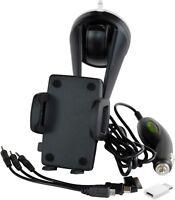 Aktiver RICHTER Handy Smartphone KFZ Halter mit Ladekabel Halterung Ladefunktion