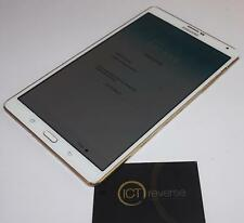 "Samsung Galaxy Tab S SM-T705 16GB - 8.4"" - Android - 4G Unlocked - White & Gold"