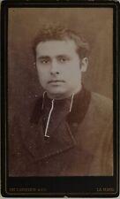 Prêtre De Lavieter La Haye Pays-Bas Photo CdvPL45L1n21 Vintage Albumine