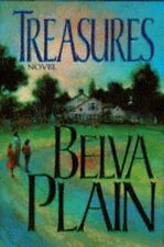 Treasures by Belva Plain (1992, Hardcover) with Dust Jacket
