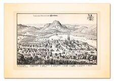 EINSIEDELN SCHWYZ VOGTEI SWITZERLAND SCHWEIZ SUISSE KUPFERSTICH MERIAN FAKS 20
