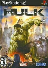 THE INCREDIBLE HULK THE GAME PLAYSTATION 2 PS2 BLACK LABEL Complete - Free Ship!