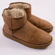 UGG Damen Stiefel Boots Schuhe Shoes Gr.40 Classic Mini II Boot Braun 86522