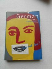 A Rough Guide German Phrase Book