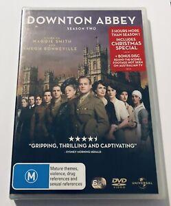 Downton Abbey : Season 2 DVD 6-DISCS NEW & SEALED** Region 4 Drama Series 🍿