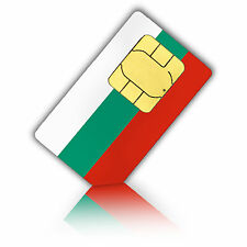 SIM Karte für Bulgarien mit 750MB mobiles Internet Standard/Micro
