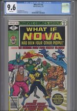 What If? #15 CGC 9.6 1979 Marvel If Nova had been Four other People: New Frame