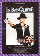 Carte Postale Affiche de Film - LA BANQUIÈRE