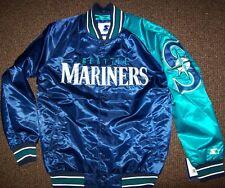 SEATTLE MARINERS MLB STARTER Jacket Sping/Summer BLUE/AQUA SMALL