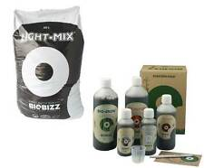 BioBizz 50L Light-Mix + Starters Pack Light Mix Grow Erde + Dünger Set
