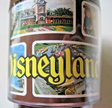 Disney's Disneyland Plastic Thermoserve Coffee Mug Cup Vintage Park Pictures
